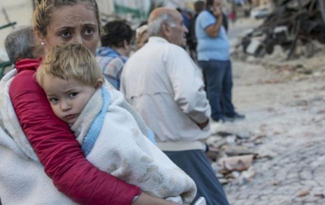 Фото: в Италии зафиксировано очередное землетрясение
