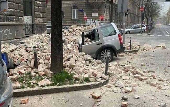 Мощные землетрясения в Хорватии: пострадали 17 человек