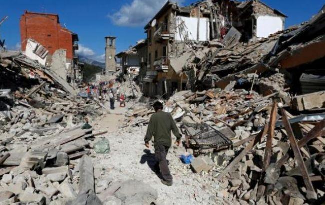 Число загиблих від землетрусу в Італії збільшилося до 293