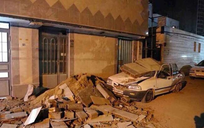 Фото: землетрясение в Иране (twitter.com/JccKrg)