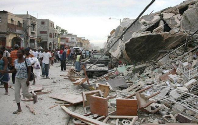 Фото: землетрус на Гаїті (twitter.com/Negbawi)