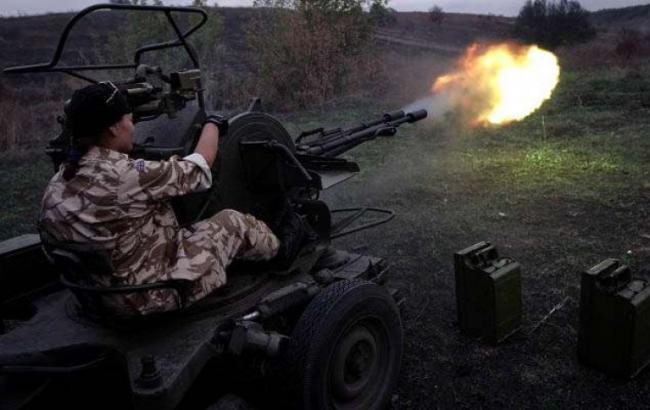 Обстрелы в зоне АТО