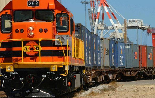 Фото: поезд Украина-Китай