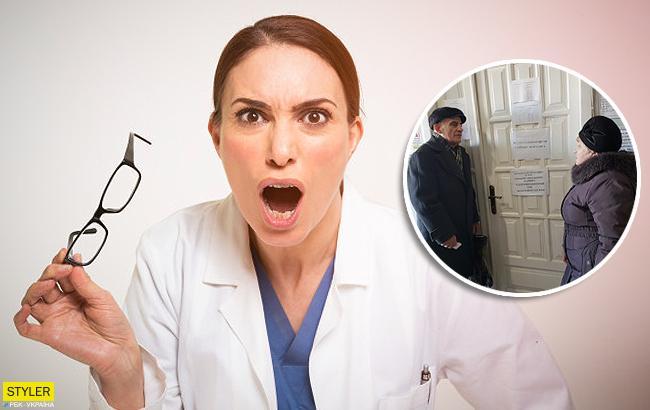 """""""Всем плохо"""": в Мелитополе врач вытолкала пациента из кабинета"""
