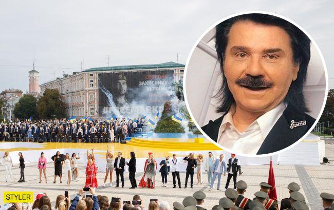 Зібров зізнався, чому співав мовою агресора в День Незалежності: це дурниці
