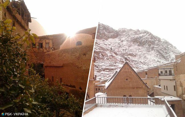 Снег и штормовые волны: туристические объекты в Египте закрывают из-за непогоды