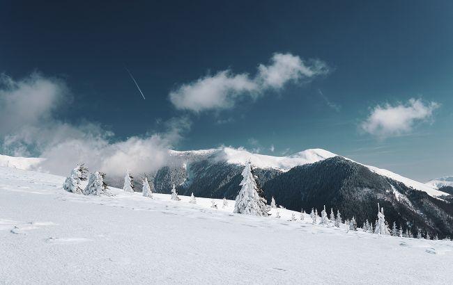 В Карпаты вернулась настоящая зима: горы засыпало снегом (фото)