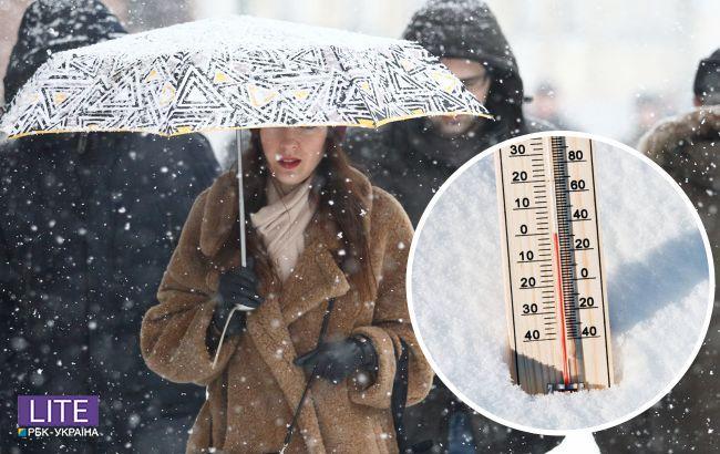 В Украину скоро вернется снег с ливнями: где испортится погода