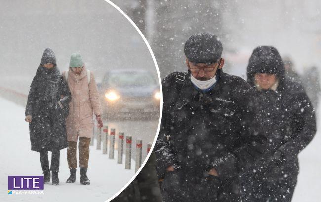 Украину накроет снежным штормом: где разгуляется непогода