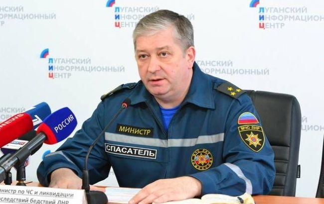 """Фото: """"министр по чрезвычайным ситуациям ЛНР"""" Сергей Иванушкин"""