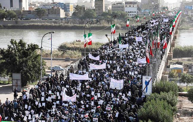 """Революционная гвардия Ирана заявила о подавлении протестов, вызванных """"иностранными врагами"""""""