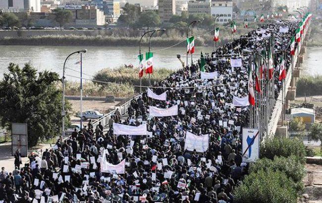 В Иране из-под стражи выпустили 440 участников протестов