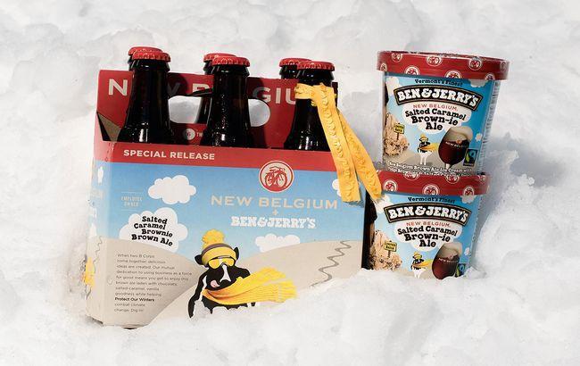 В США выпустят мороженое со вкусом пива