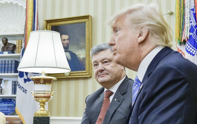 УТрампа поведали новые детали встречи сПорошенко
