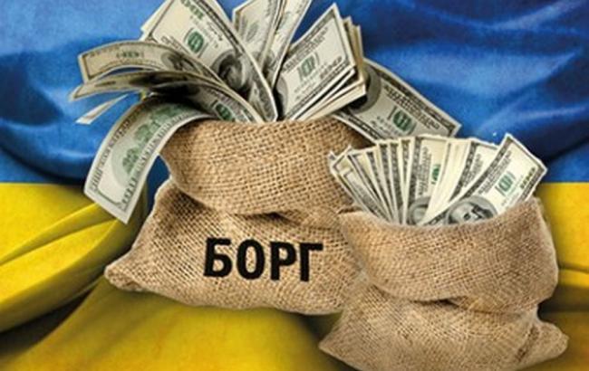 Держборг України у квітні збільшився на 1,96 млрд доларів