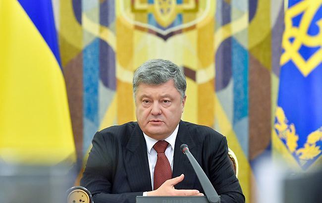 """Порошенко офіційно вивів Широкине і Бердянське з """"сірої зони"""" на Донбасі"""