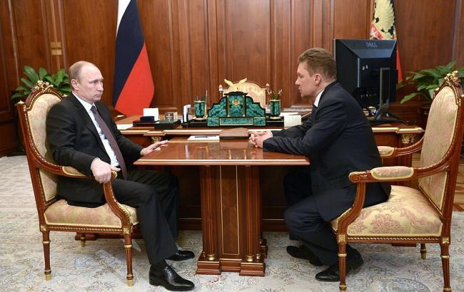 """Путін доручив """"Газпрому"""" забезпечити безперебійне постачання газу на Донбас"""