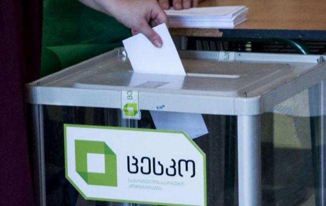 Фото: парламентские выборы в Грузии