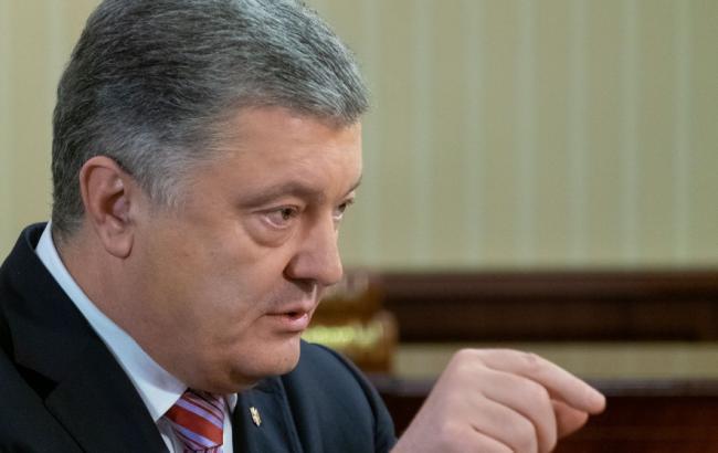 Небезпечна кількість кораблів РФ у Чорному морі може загрожувати країнам НАТО, - Порошенко