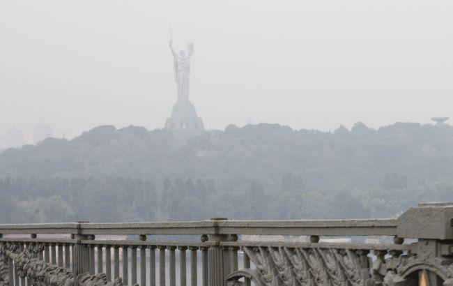 Фото: в Киеве сформировался смог