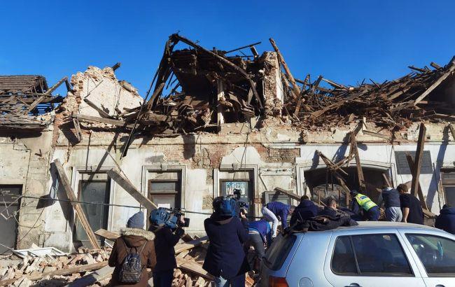 В Хорватии три новых землетрясения, люди ночевали на улицах