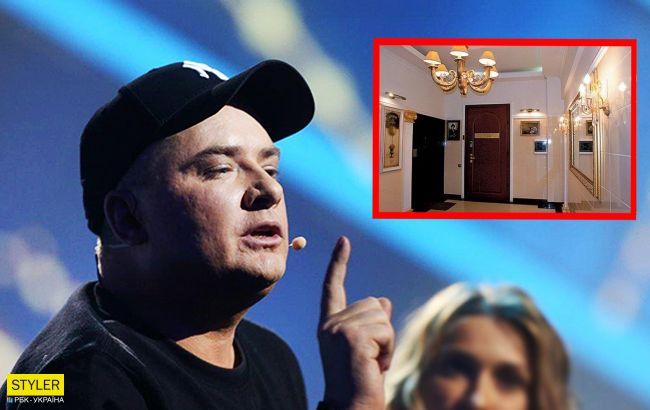 Жахливо і без смаку: Данилко розповів правду про свою квартиру в Києві