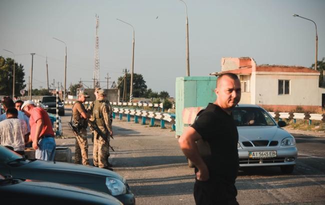 СБУ посилила заходи безпеки в Херсонській області, що межує з Кримом