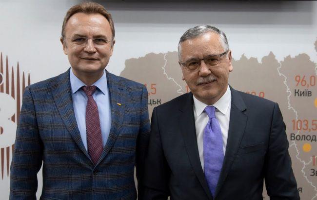Уступил дорогу: как Гриценко и Садовый объединились перед президентскими выборами