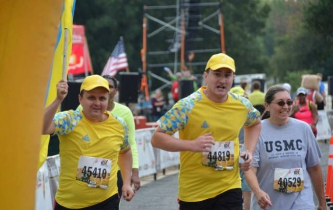 Фото: Украинские воины преодолели марафон в США (bykvu.com)