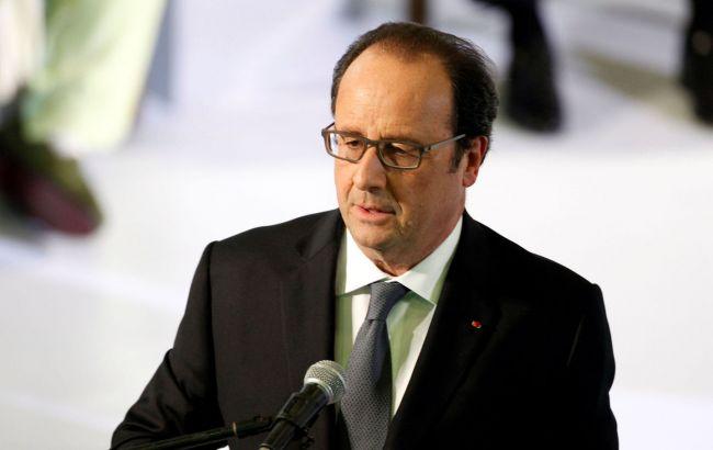 Олланд назвав вибух в офісі МВФ в Парижі терактом