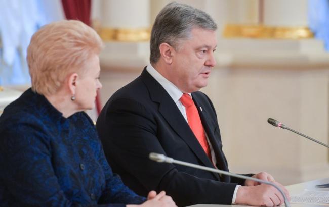 Украина и Литва усилят взаимодействие в секторе обороны и безопасности