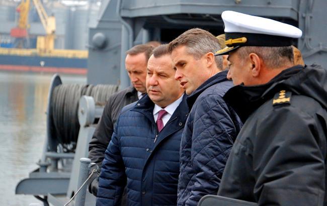 В Україну прибуде група військовослужбовців ВМС Британії