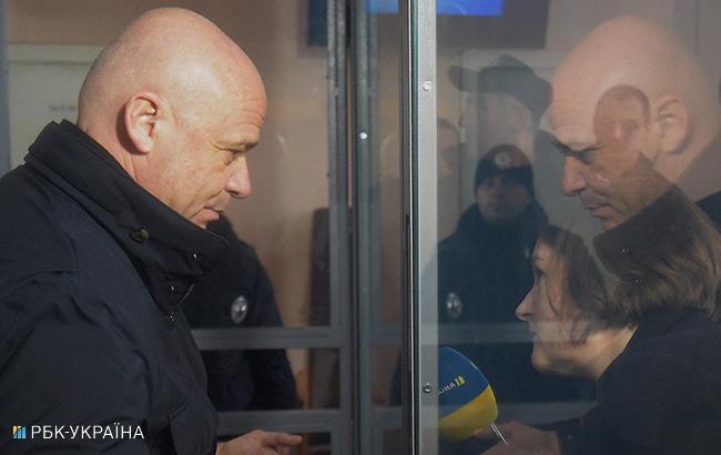 Суд відпустив Труханова на поруки
