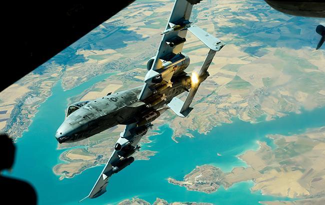 Фото: американский самолет (defense.gov)