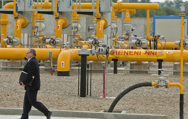Кількість газу в ПСГ України скоротилося на 0,27% - до 15,542 млрд куб. м