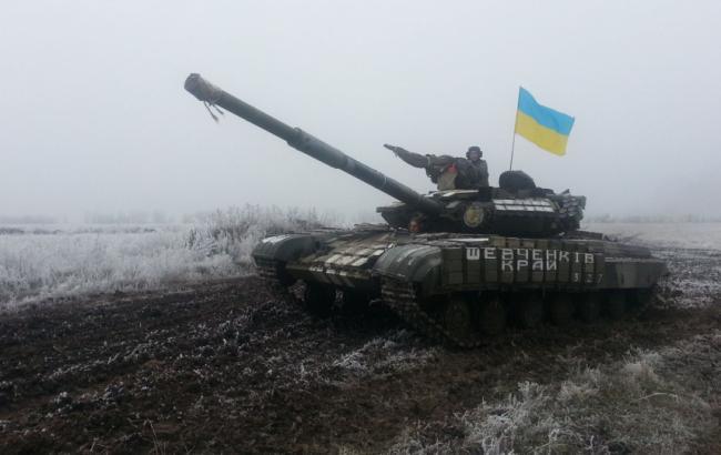 Фото: в зоне проведения АТО за прошлые сутки боевики ранили трое украинских военнослужащих