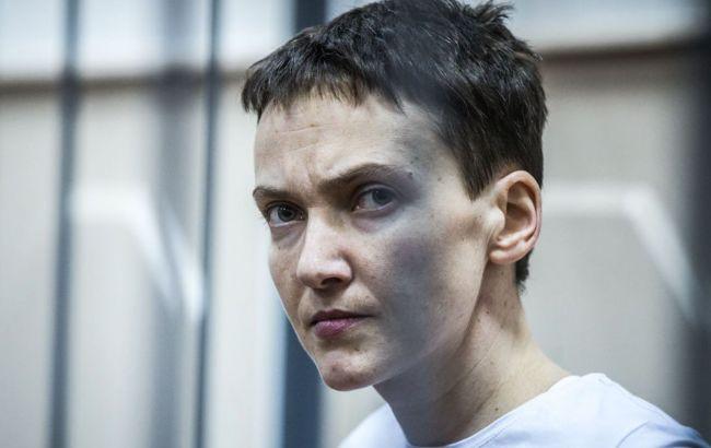 Фото: Надежда Савченко вылетела в Украину