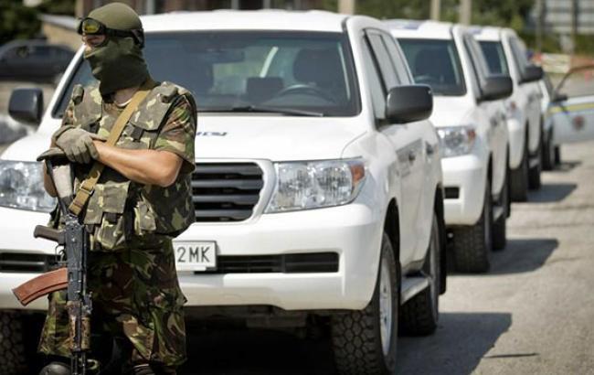 В РНБО заперечують причетність українських військових до обстрілу конвою місії ОБСЄ