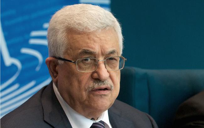 Фото: голова Палестини Махмуд Аббас
