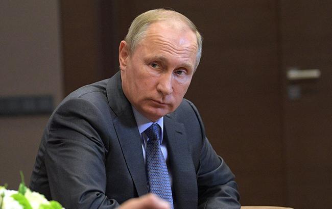 Известный карикатурист Сергей Елкин высмеял президента РФ