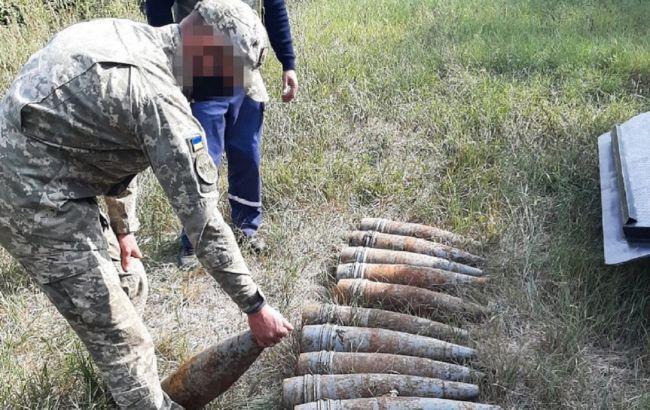 В Луганской области СБУ обнаружила тайник со снарядами