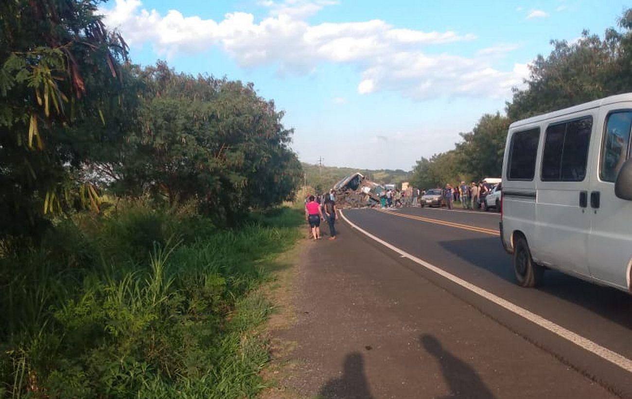 В Бразилии почти 40 человек погибли в ДТП автобуса и грузовика