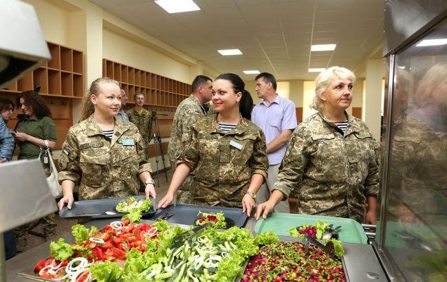 Все воинские части перейдут на новую систему питания в 2020 году