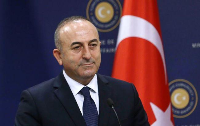 Фото: министр иностранных дел Турции Мевлют Чавушоглу
