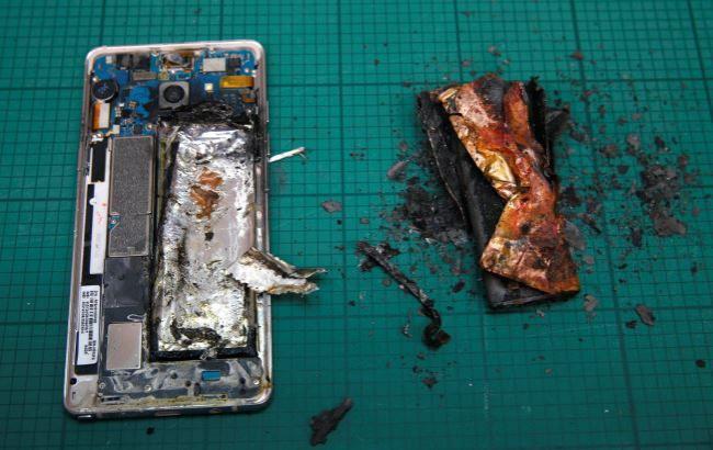 Фото: Galaxy Note 7 взорвался в руках вора (metro.co.uk)