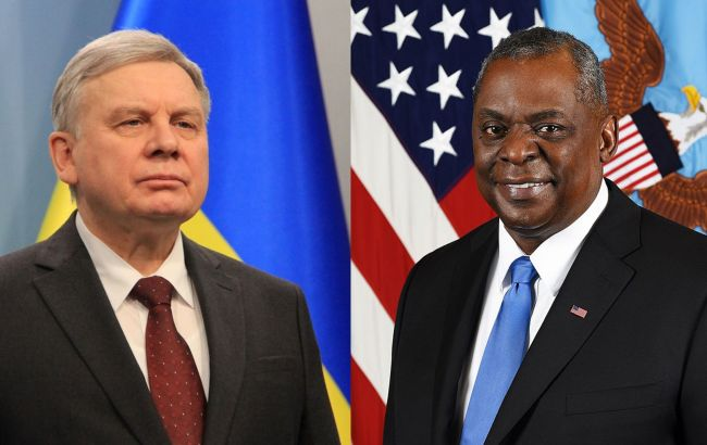 Глава Пентагону пообіцяв Україні підтримку в захисті від російської агресії