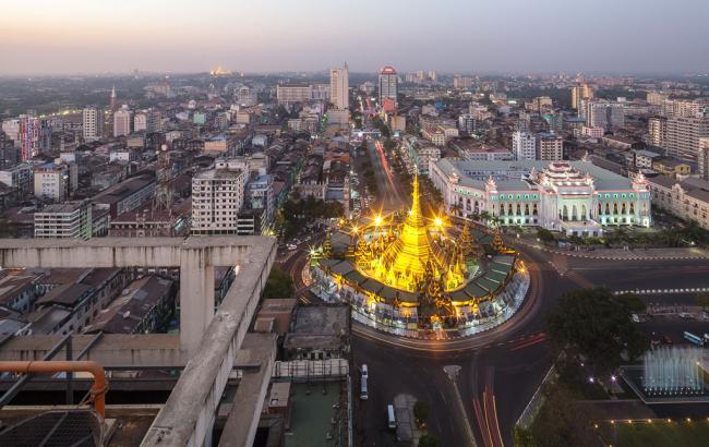 Фото: в Янгоне открыто украинское посольство