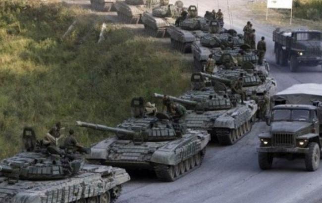 В Луганську обл. з РФ зайшло 20 одиниць військової техніки, - штаб АТО
