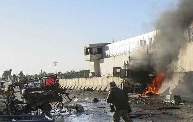 Фото: в Афганистане произошел взрыв