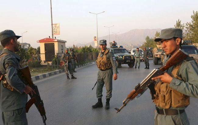 Фото: в Афганистане задержали одного из напавших на консульство Германии